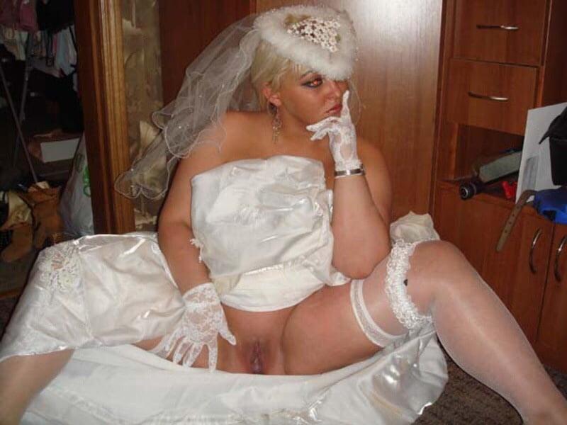 Horny wedding oops