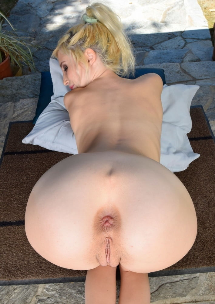 Skinny naked ass hole — 2