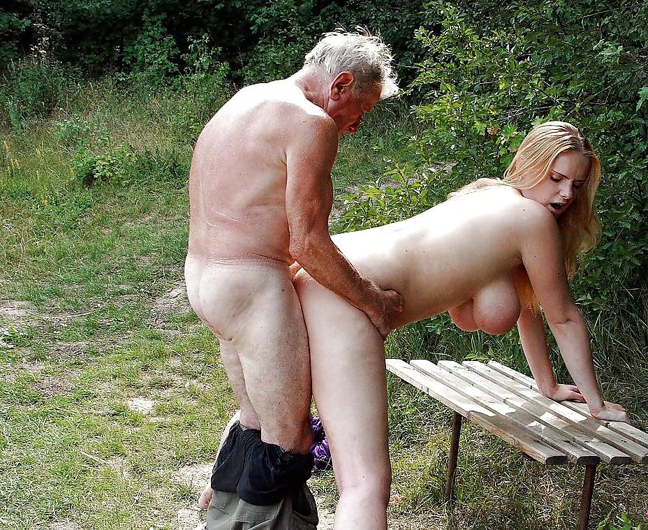 Деревенский старик и секс