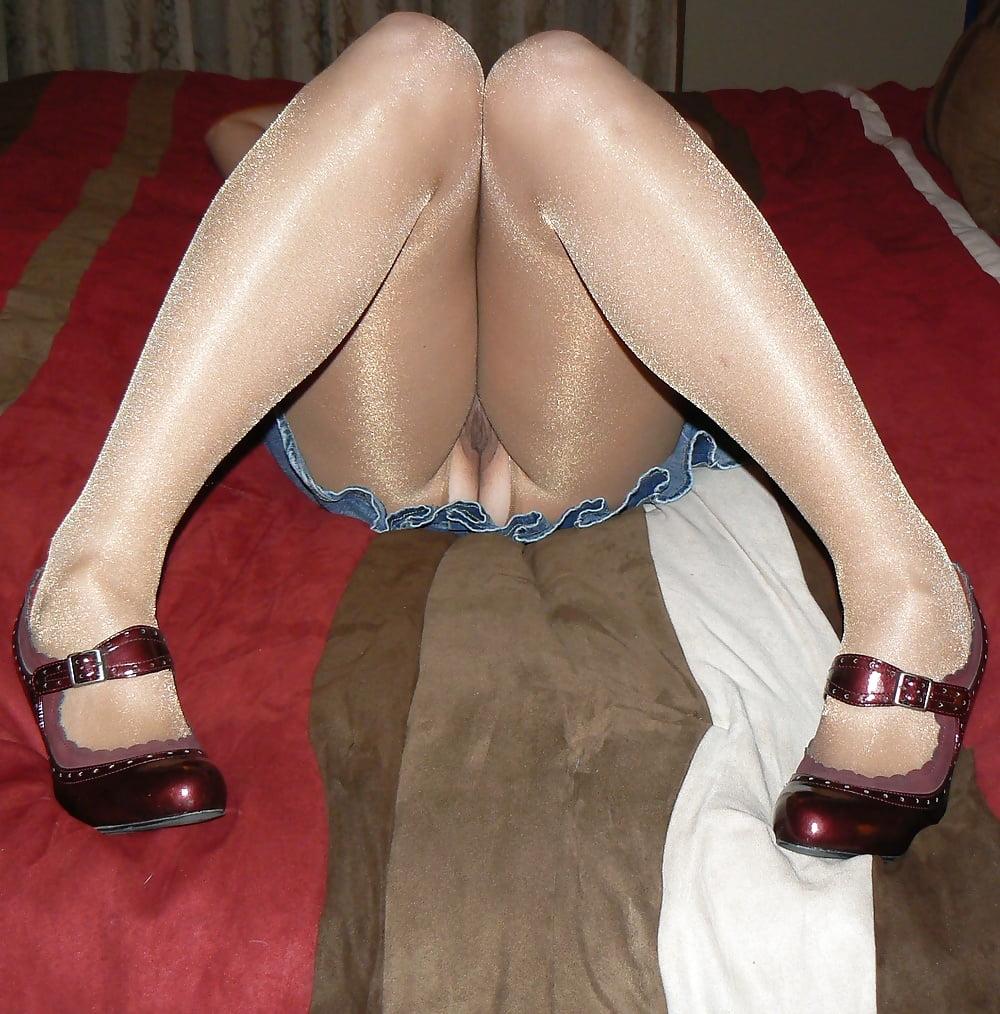 My wife always wears pantyhose