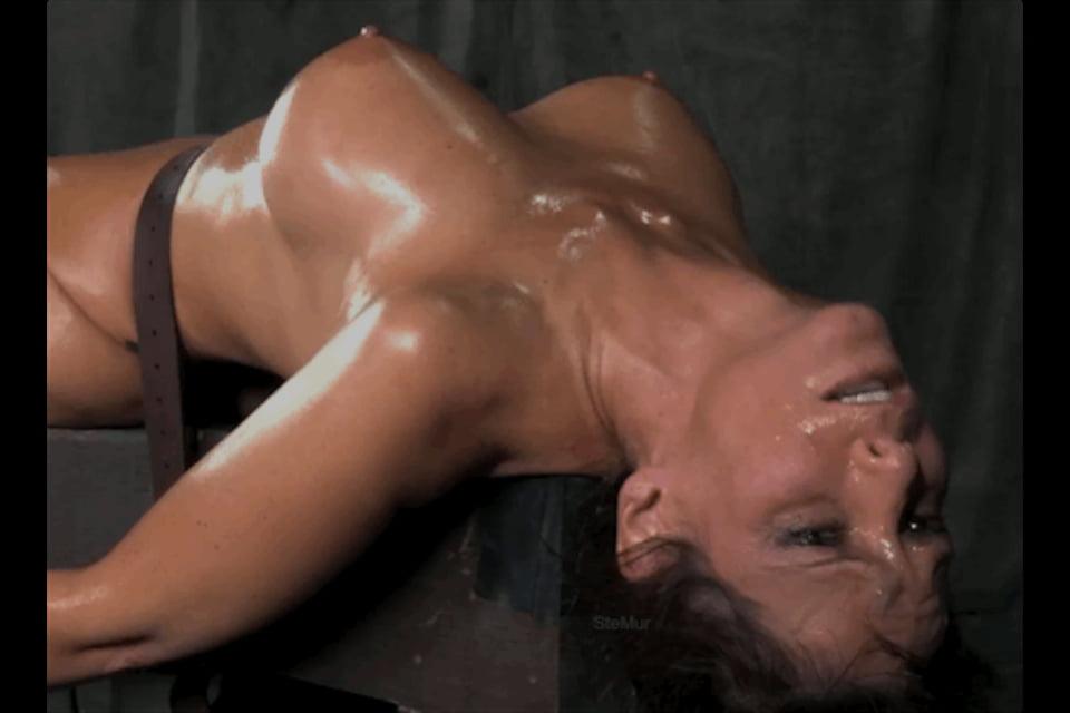 Bondage forced orgasm