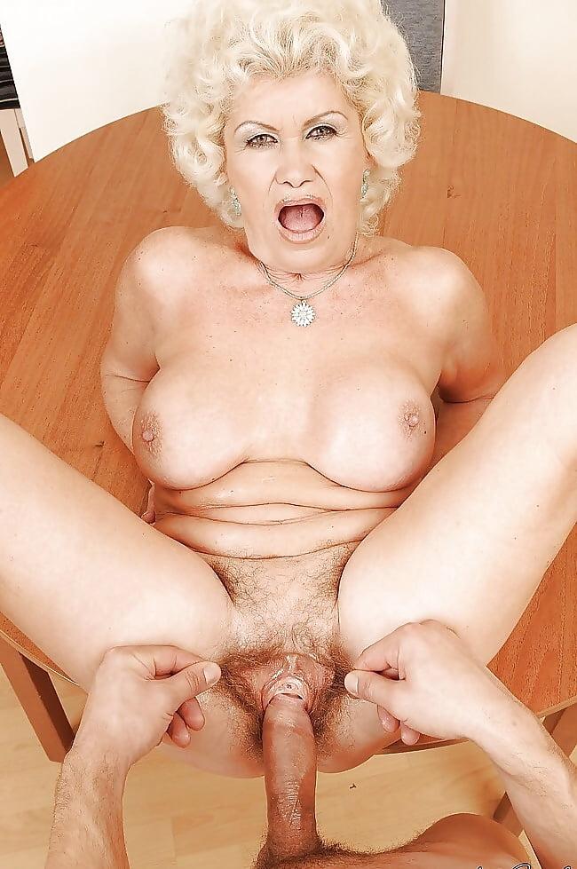 Grandma having naked sex — img 11