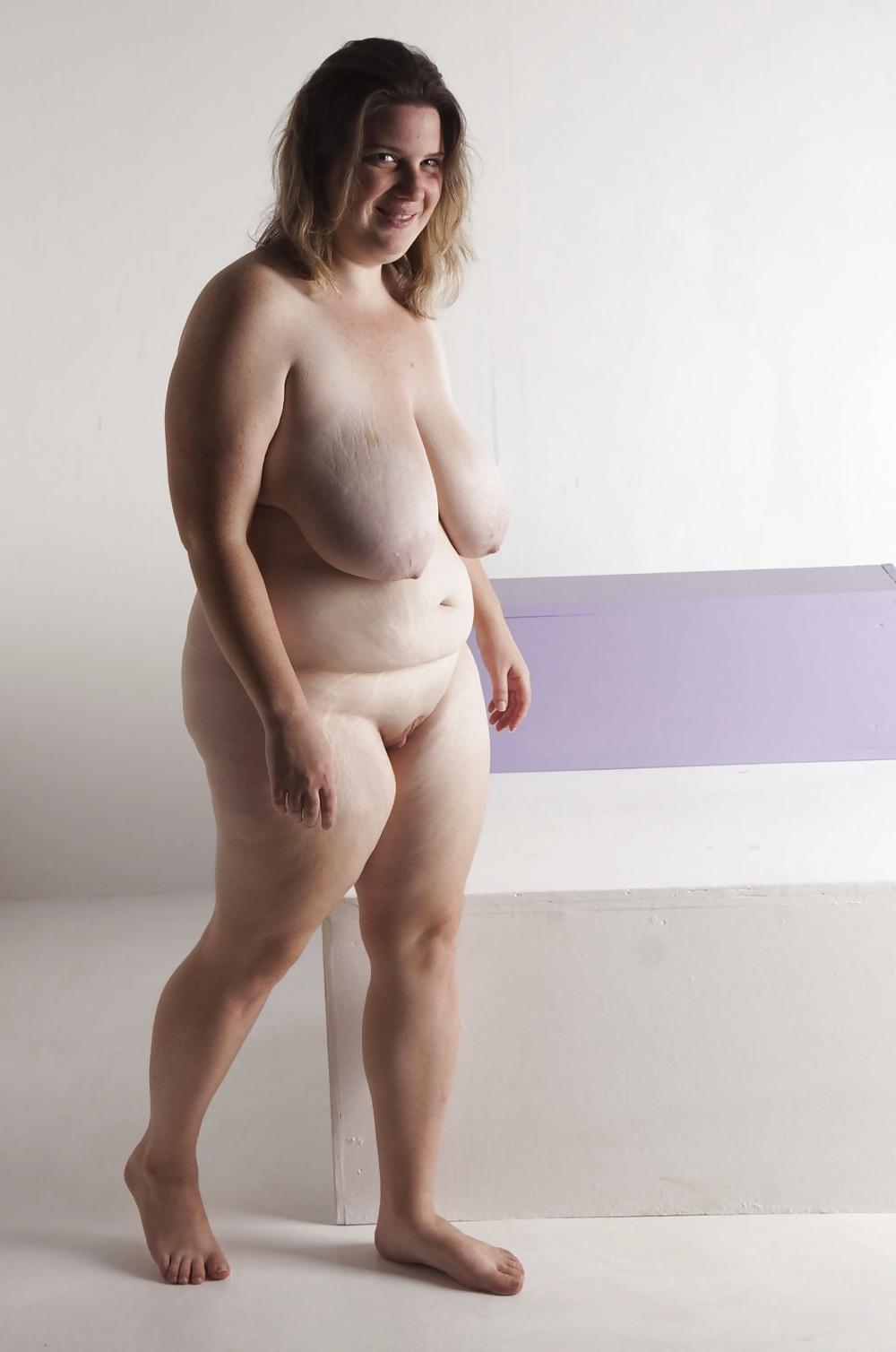 Ugly skinny naked women