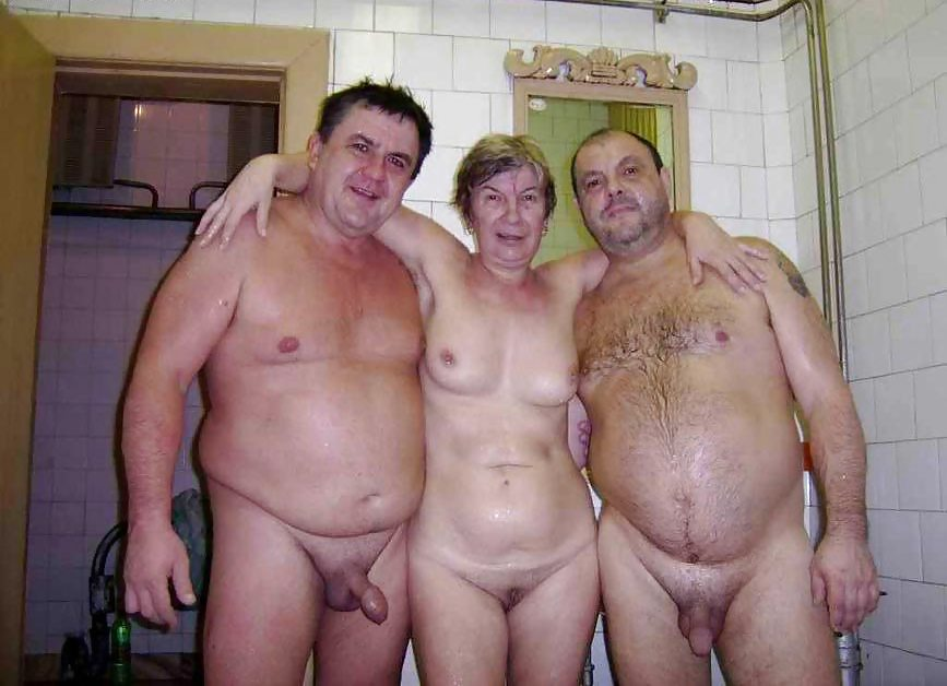 naked old man in sex