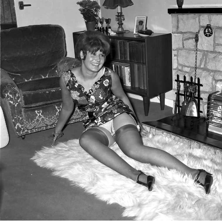 Vintage see through sheer black panty erotic mesh panties