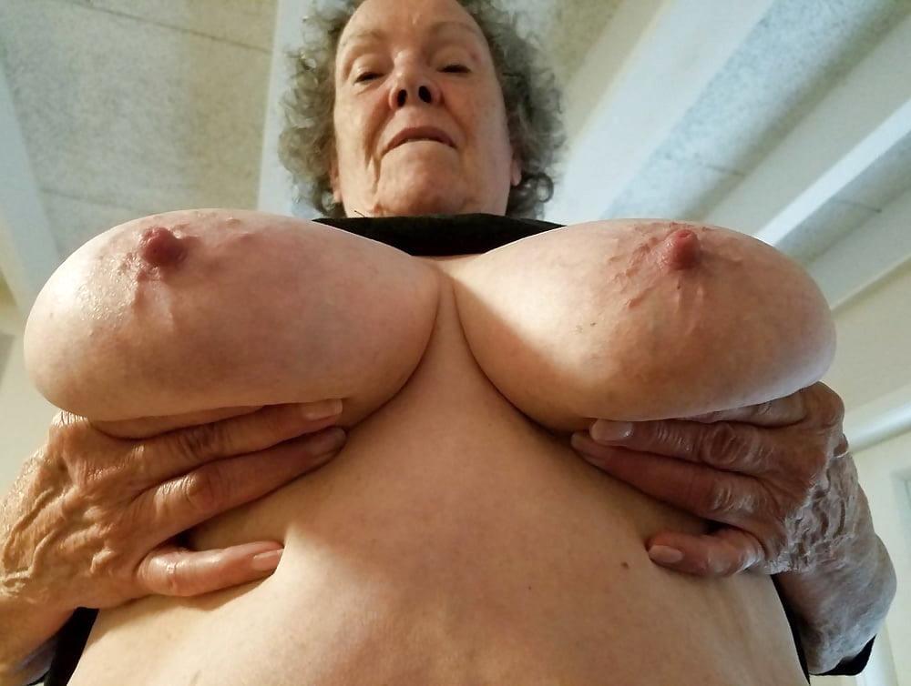 My grandma big tits