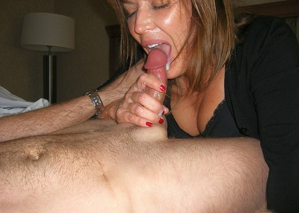 Amatuer milf cock suckers — 5