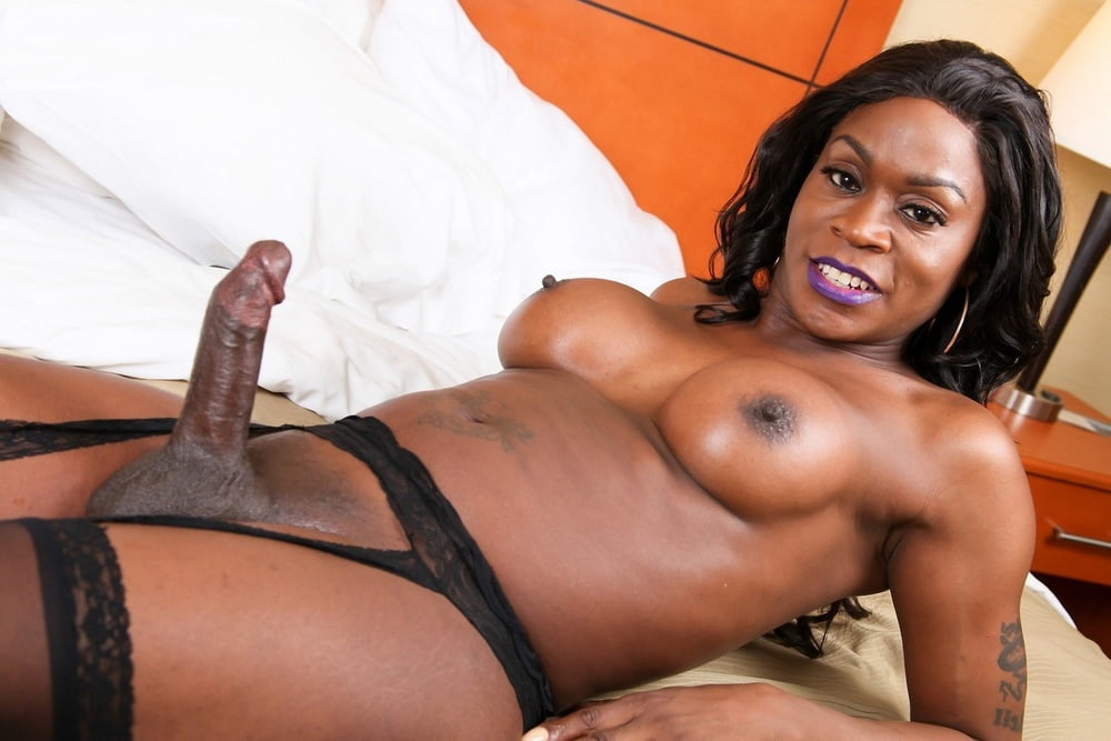Black Ebony Tranny Cam Porn