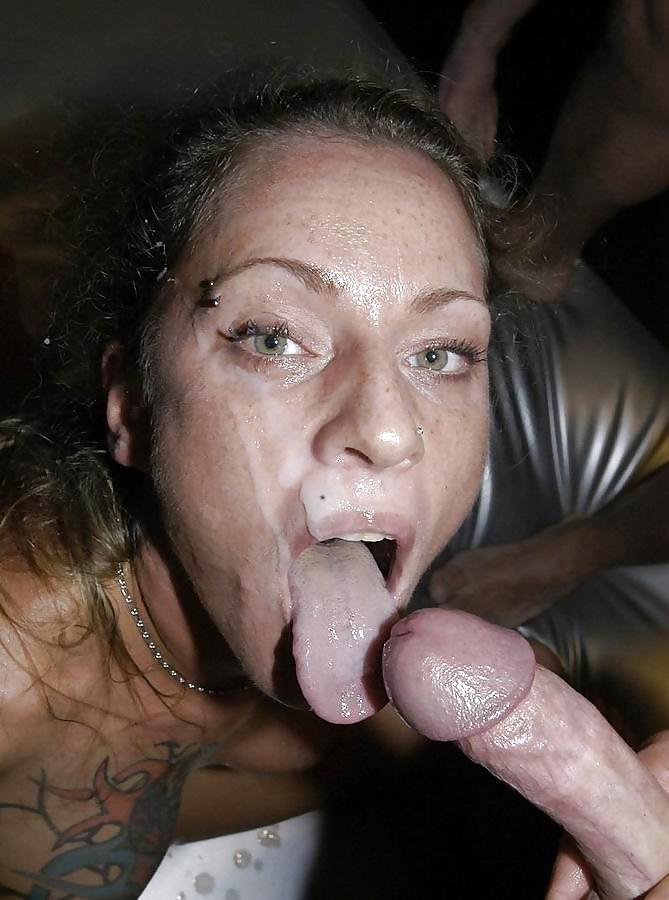 Wild mature goo mouth
