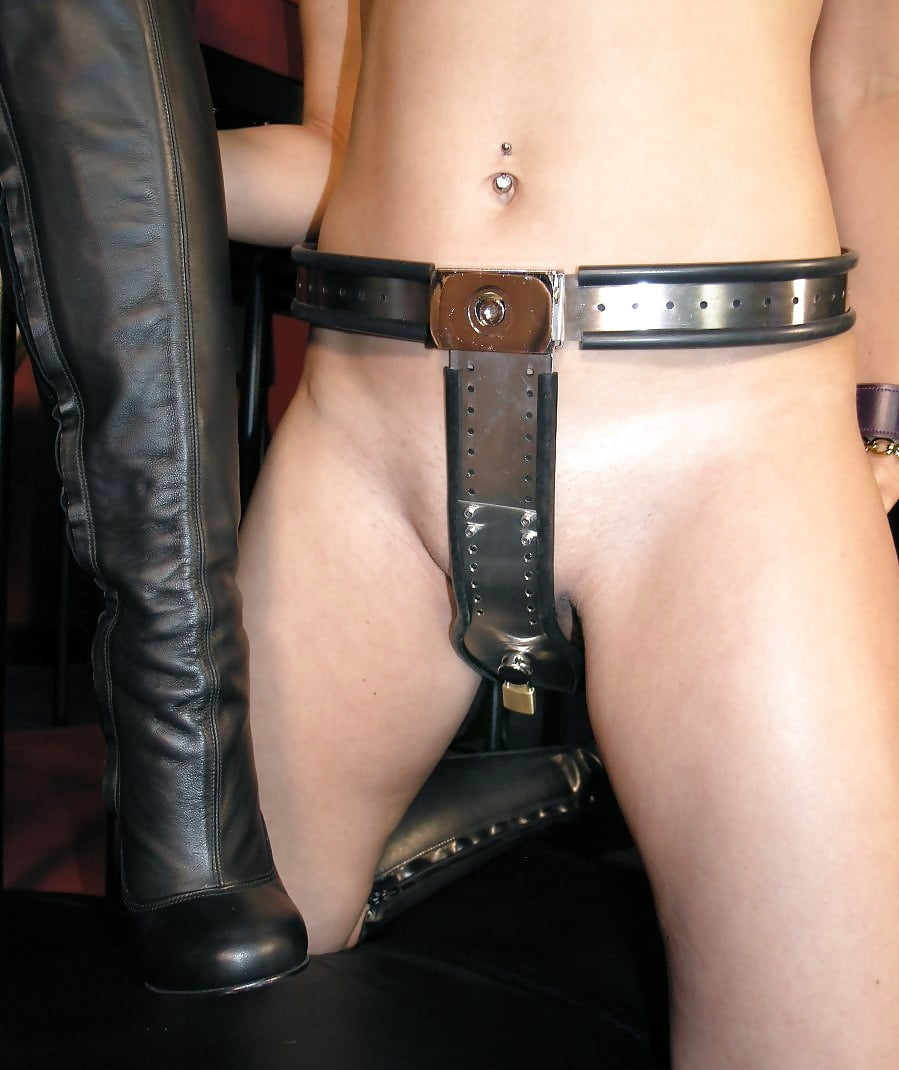 Vintage Lesbian Chastity Belt Play