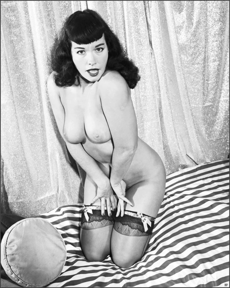 Bettie Page Nude Centerfold Search