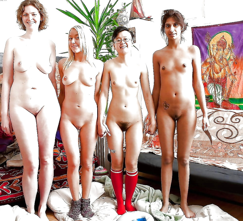 Nude natural coeds