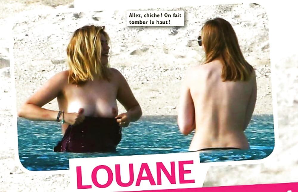 Louane porn pics