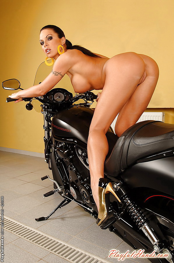 Bike with girl-6968