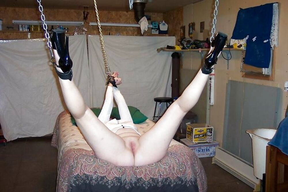 My Chunky Dirty Slut Wife Enjoys Getting Her Holes Tortured In Homemade Bdsm Photo