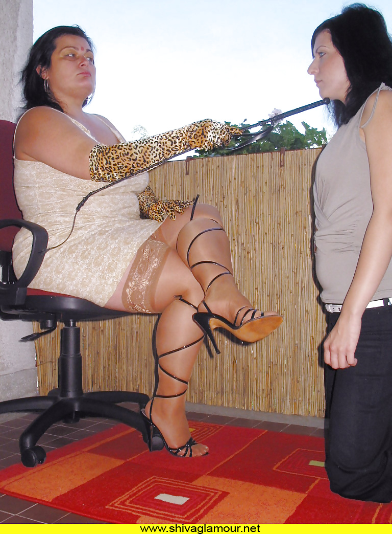 Bella vendetta and shiva in lesbian bdsm scene - 3 part 1