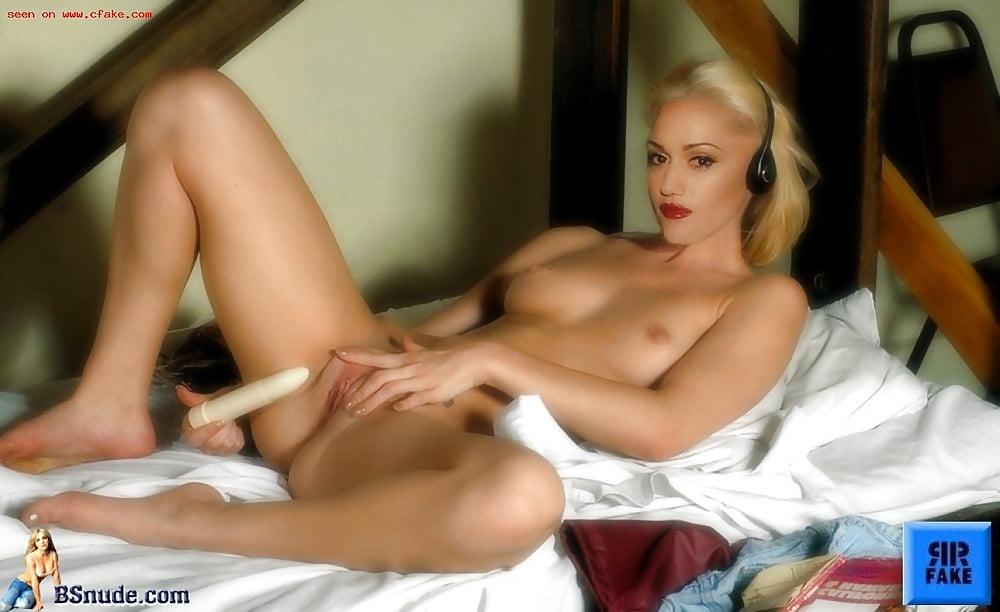 Gwen Stefani's Shorts Thigh