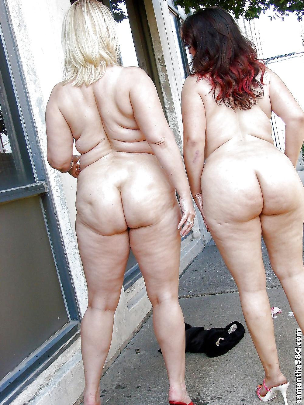 Big ass old moms nude