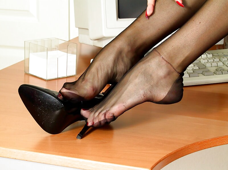 Foot worship shoe store
