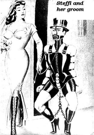 femdom husband Steffi art slave