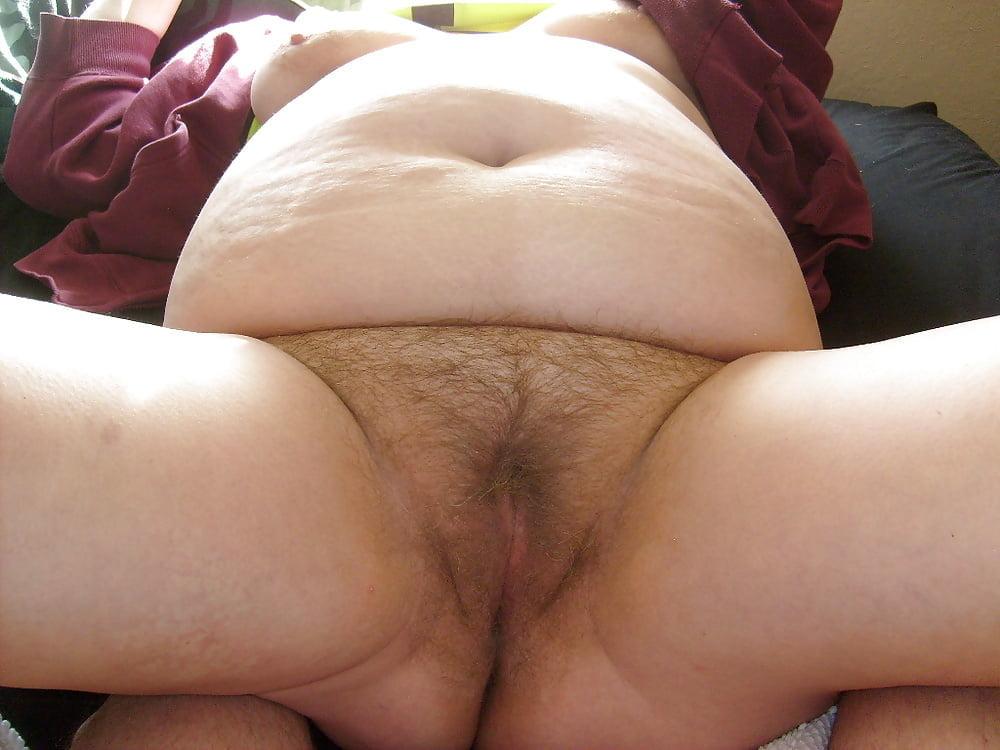 Dark hairy fat pussy