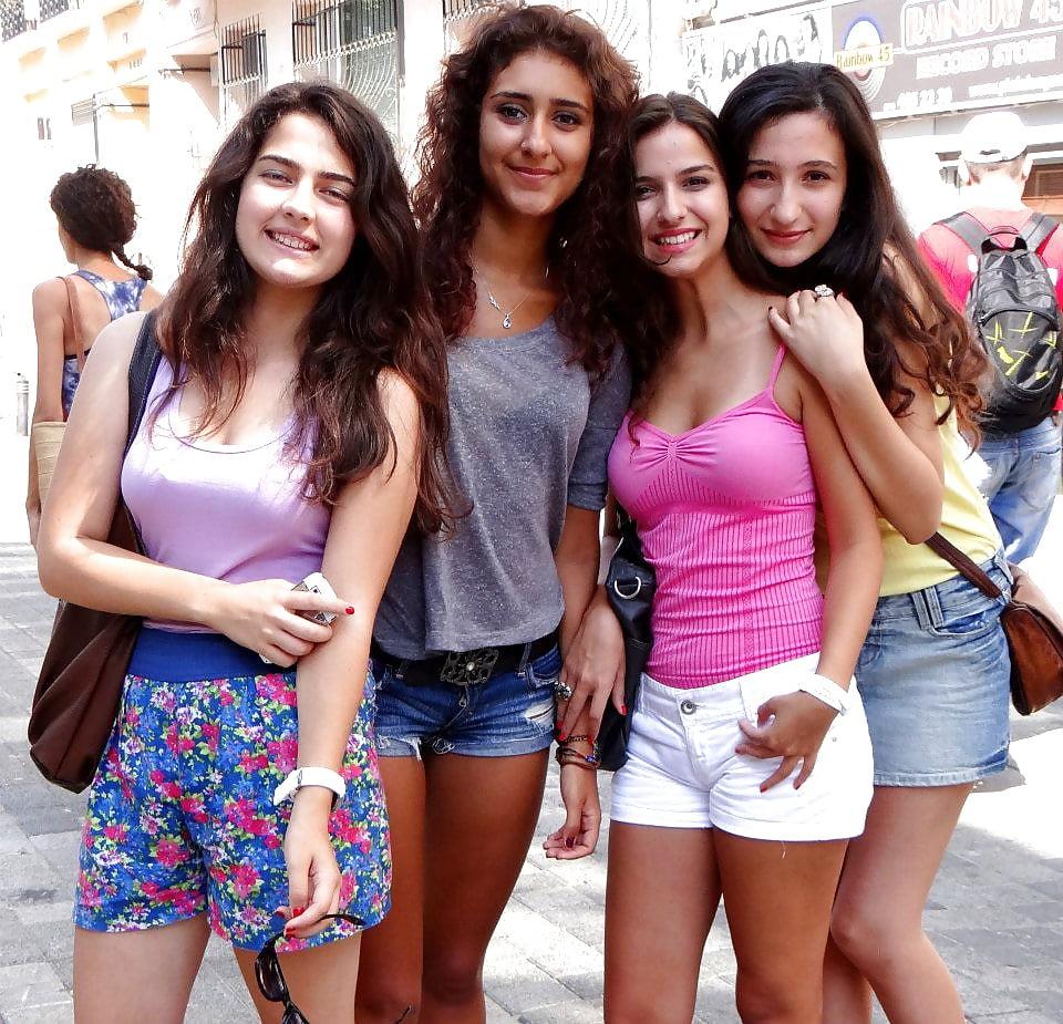 Italian college girls