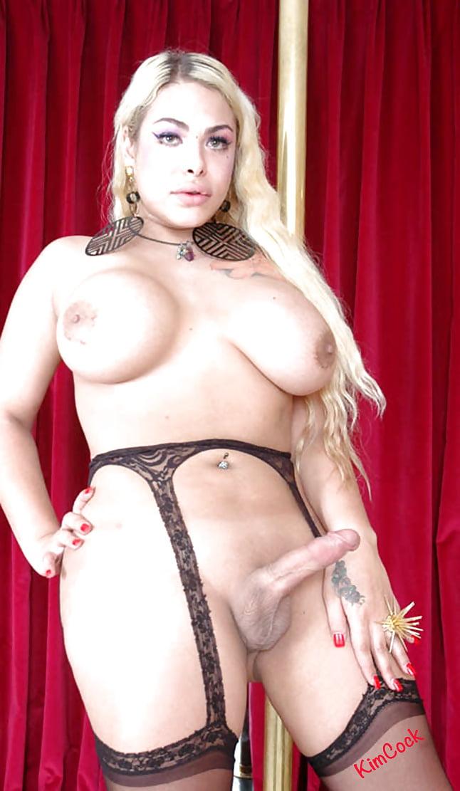 Curvy shemale porn photo