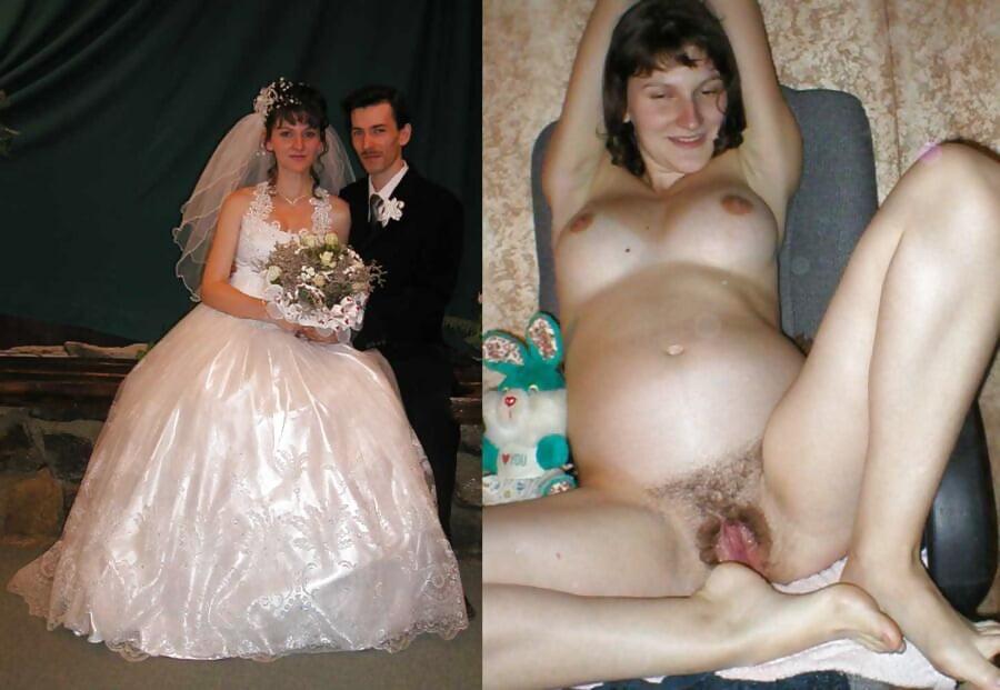 голая пара после свадьбы - 14