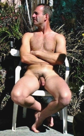chested men hairy Mature