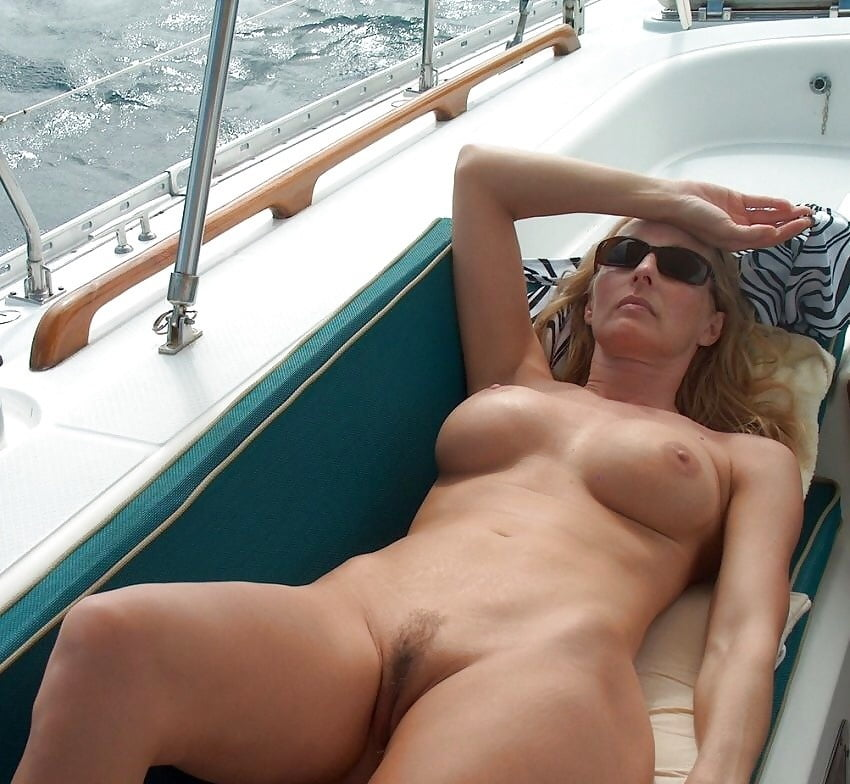 Naked Girl On My Boat