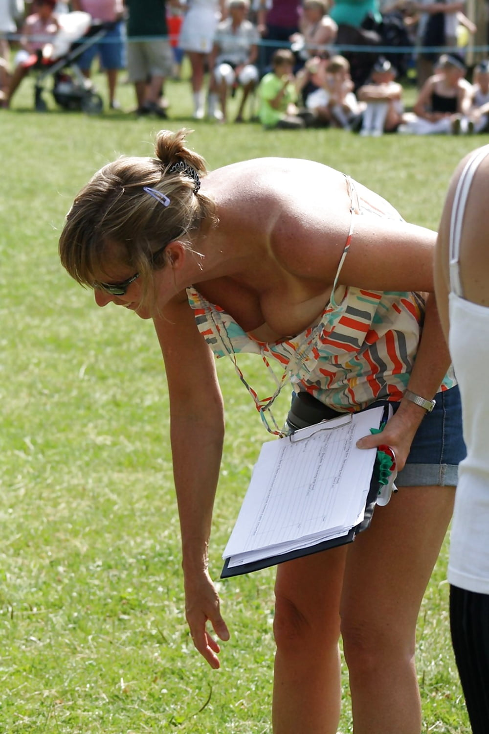 Upskirt downblouse sports events clips, mother fuck old man porn
