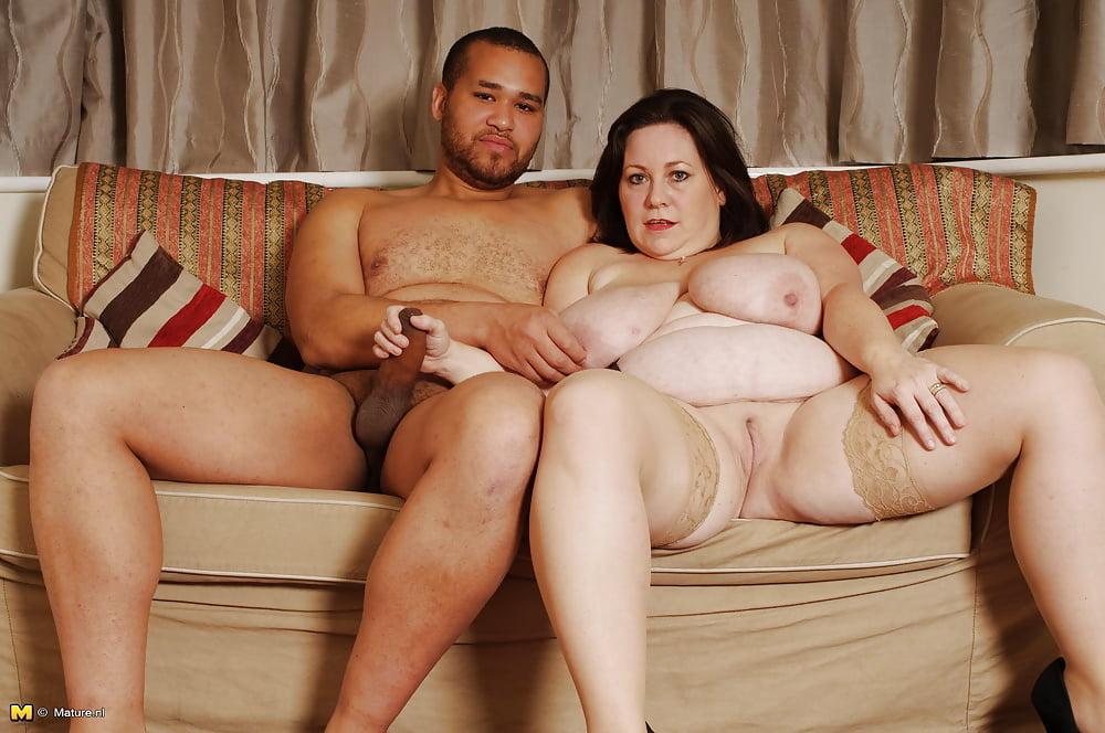 Толстая тетка дала трахаца парню — pic 3