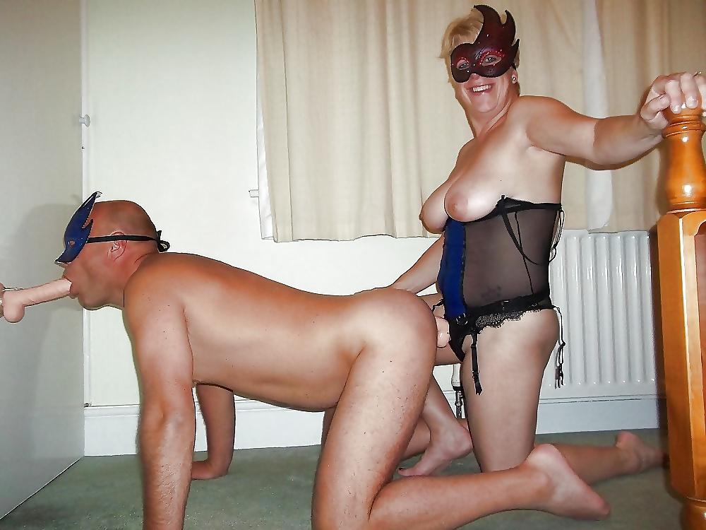Maid mature anal