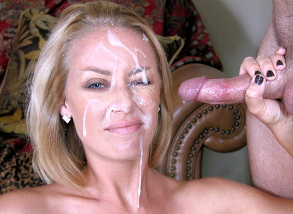Hot Milf Cum Facial