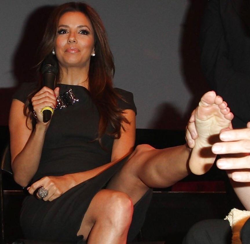 Eva longoria feet porn pics