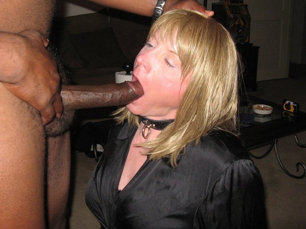Wife bitch collar master cum, big old sex