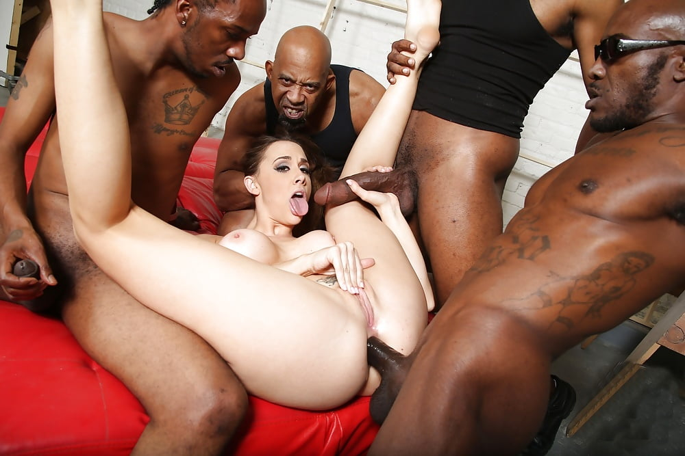 Teen hairy xxx interracial gang bang