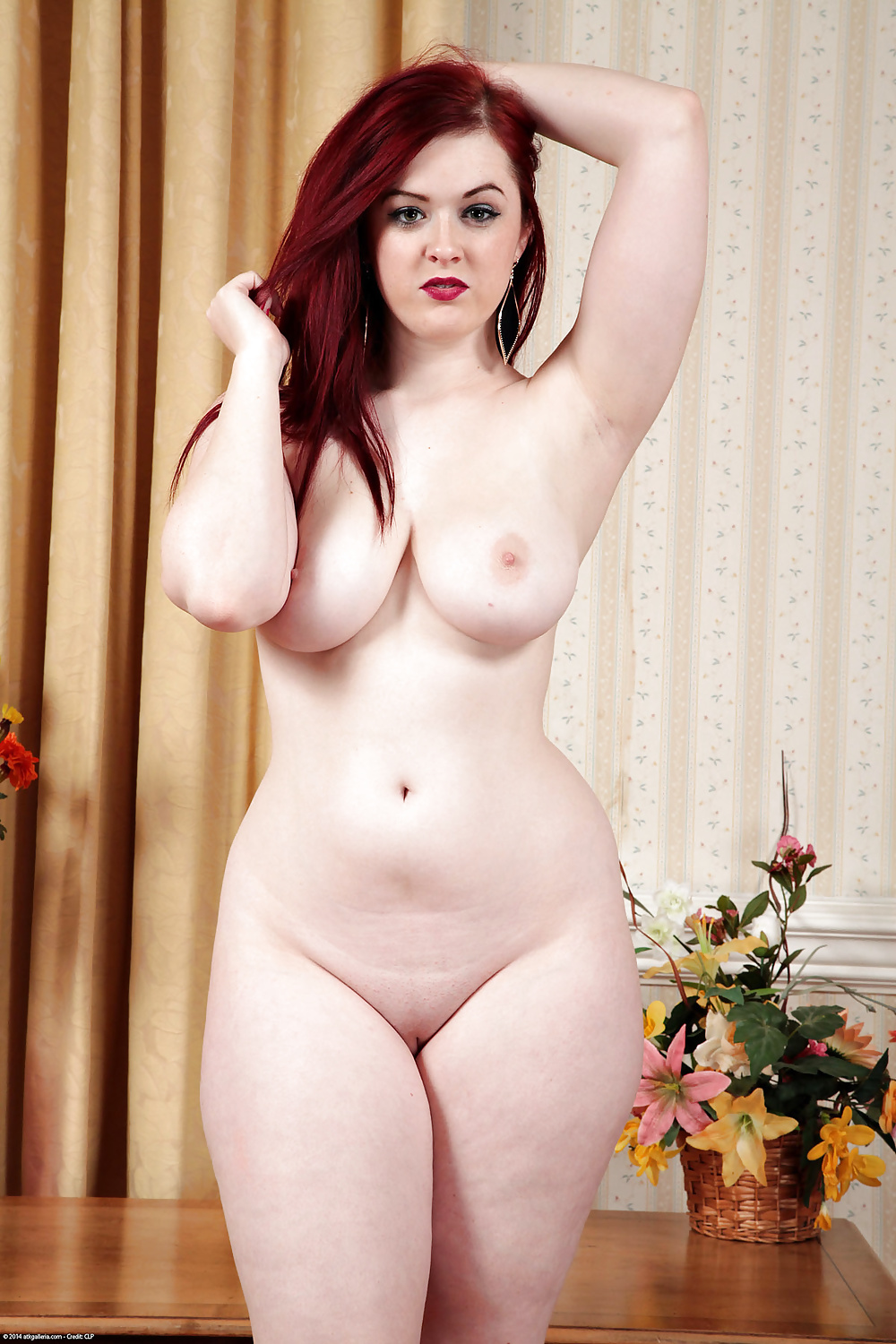 Nude Freckled Redheads