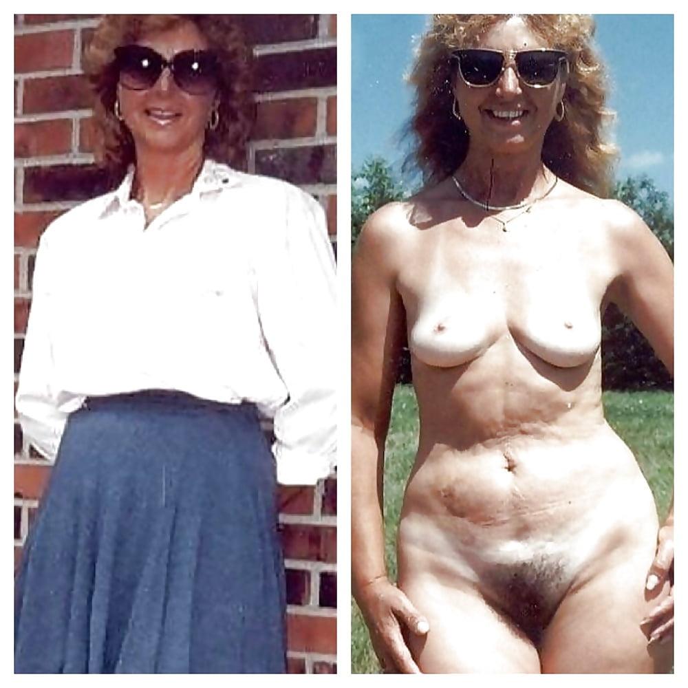 Older women caught naked-4837