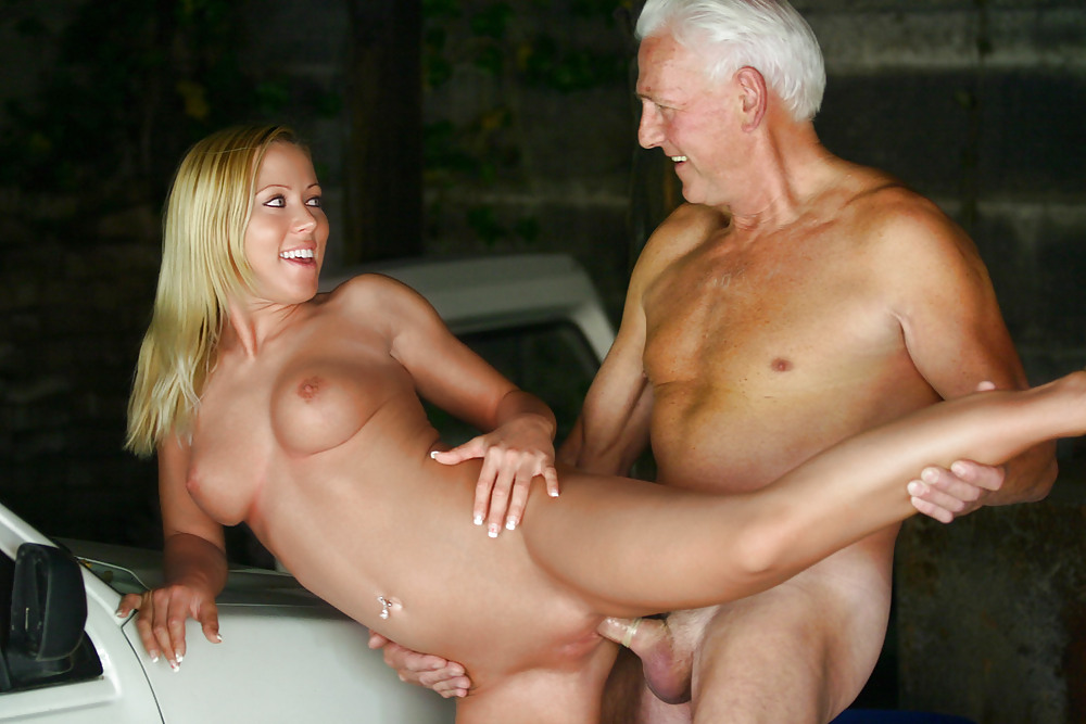Nicole Sweet Gets Fucked By And Old Man