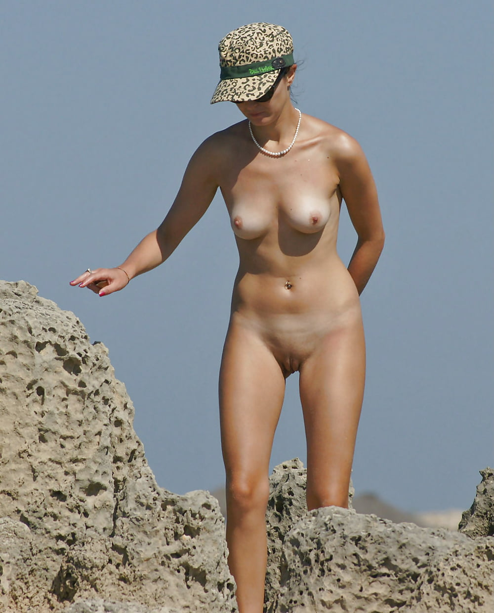Beach group nude-3166