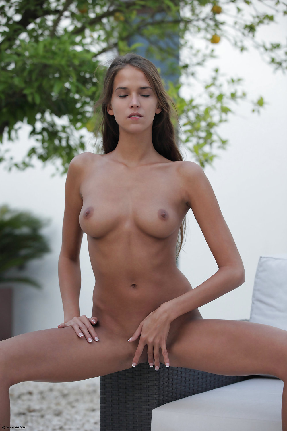 Naked tan boobs-3435