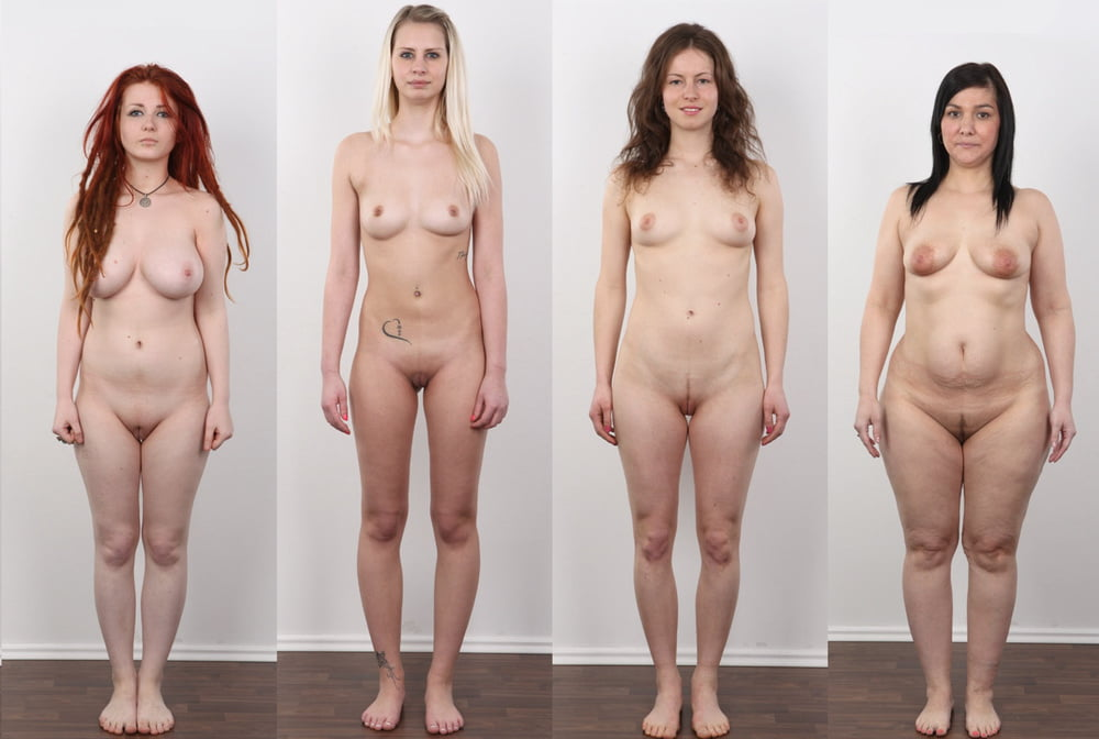 Beautiful hairy nude women full frontal