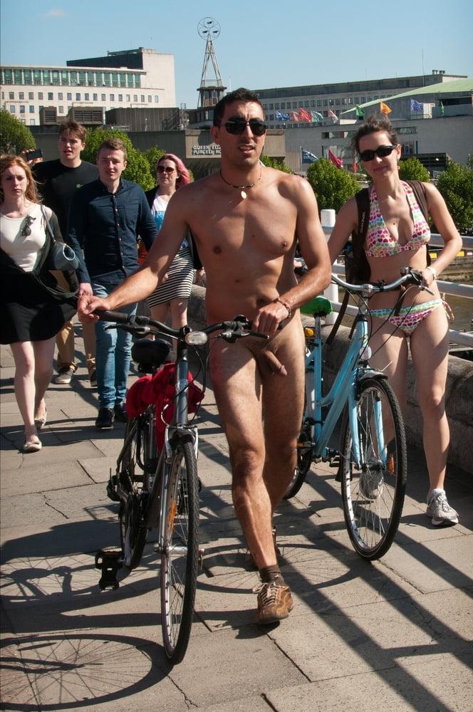 Naked men in kilts