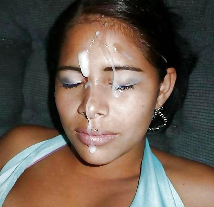 Cum in the face latina — pic 12