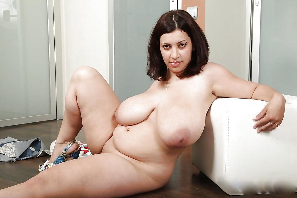 Chubby natural big tits