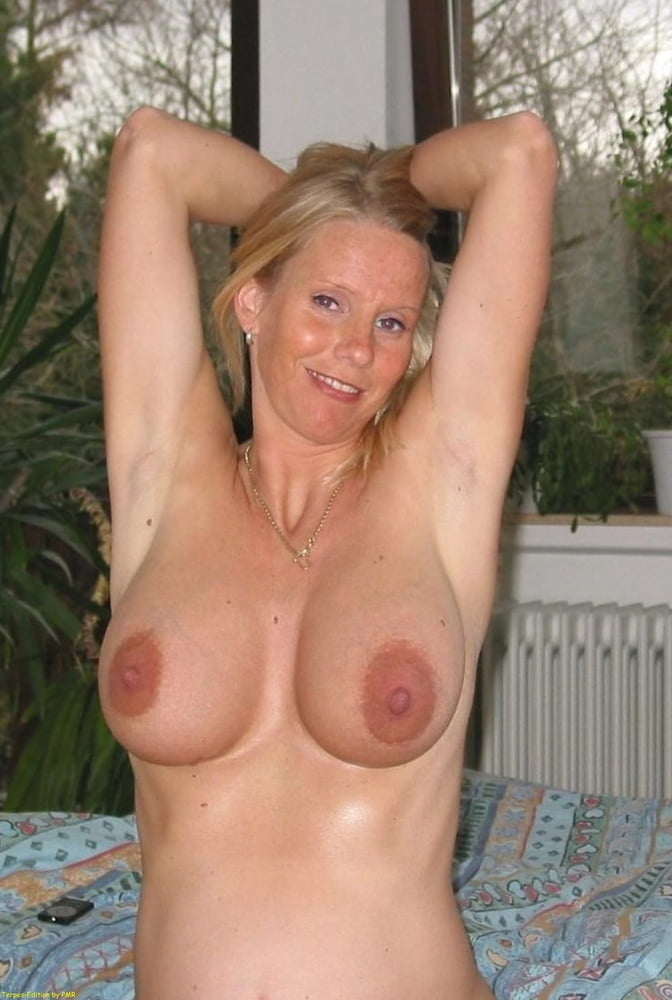 Busty blonde german milf