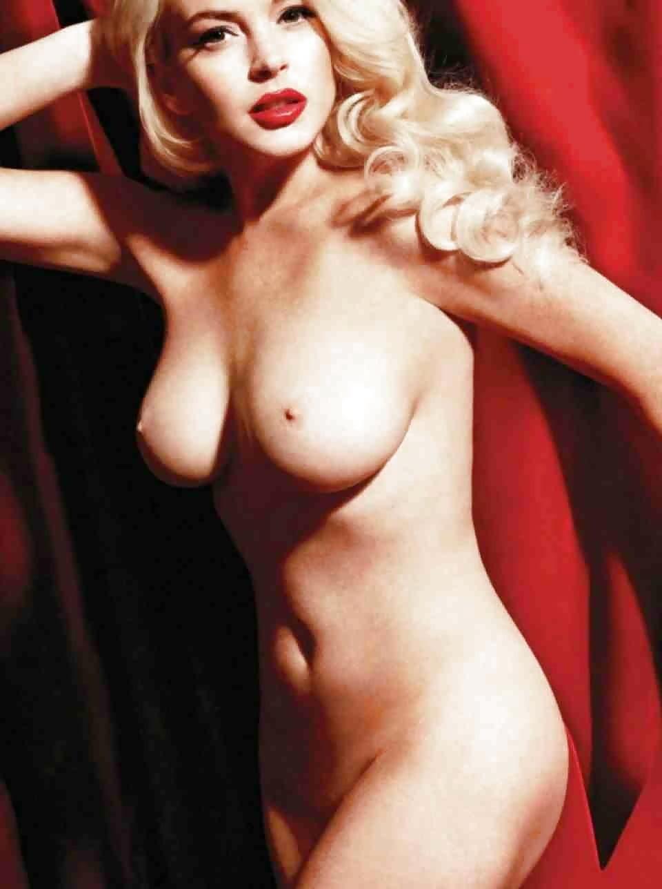 Lindsay lohan new york magazine mint new marilyn monroe nude pictorial