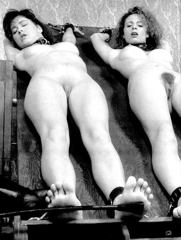 Vintage vhs bondage tickling