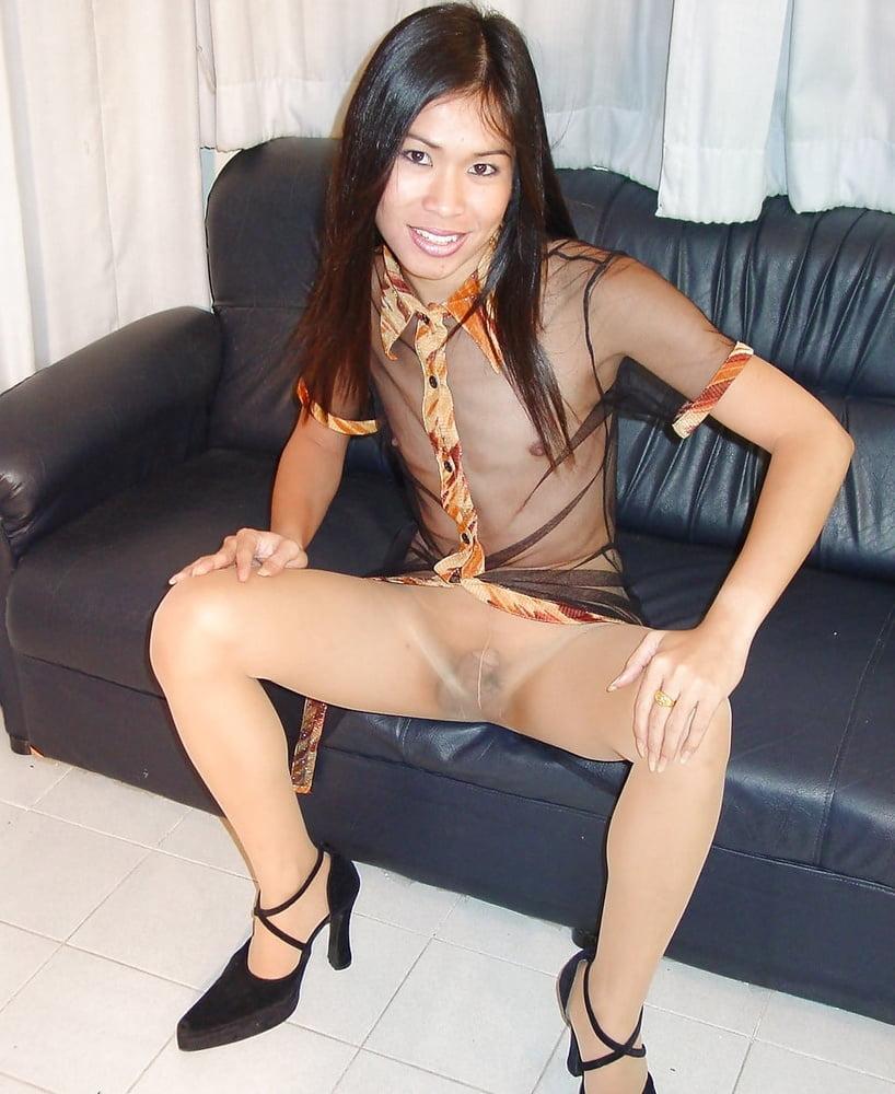 Asian shemales pantyhose